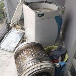 Bật mí cách xử lý máy giặt bị cặn bẩn bám vào quần áo, lồng giặt triệt để 100%