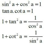 Công thức lượng giác lớp 9, lớp 10, lớp 11 chi tiết từ A - Z [VD minh họa]