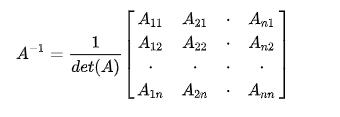 Ma trận nghịch đảo là gì? Cách tìm ma trận nghịch đảo 2x2, 3x3, 4x4