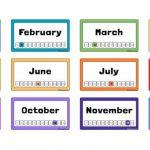 12 tháng tiếng Anh và cách đọc viết cho người mới chuẩn 100%