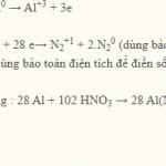 Al + HNO3 → Al(NO3)3 + H2O + NO2: Cách cân bằng phản ứng