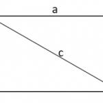 Công thức tính đường chéo hình chữ nhật chuẩn 100% [Bài tập minh họa]