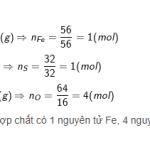 Khối lượng mol là gì? Công thức tính khối lượng mol chính xác 100%