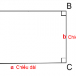 công thức tính nửa chu vi hình chữ nhật chuẩn 100% [Bài tập có lời giải]