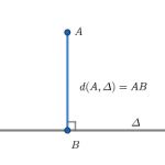 Tính khoảng cách từ 1 điểm đến 1 đường thẳng chính xác 100%